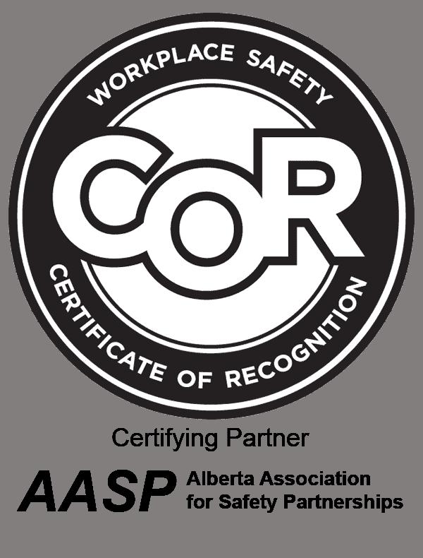 COR Certification Dennis Dirtworx